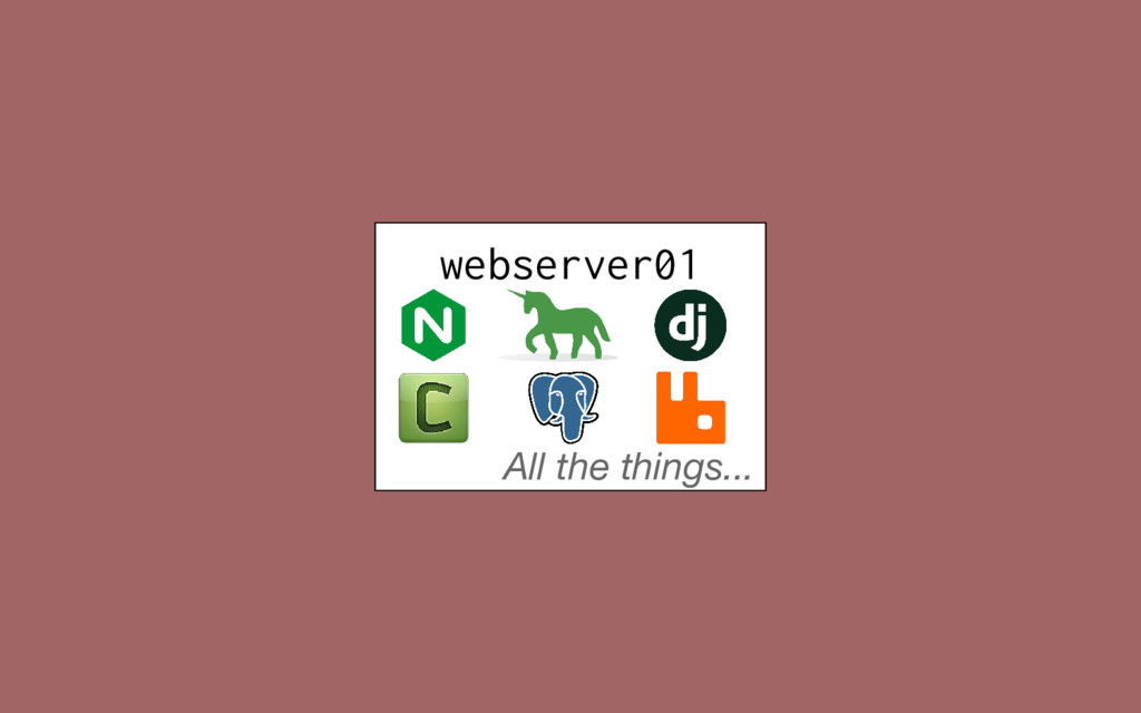 webserver01 All the things...
