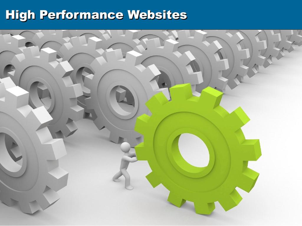 High Performance Websites High Performance Webs...