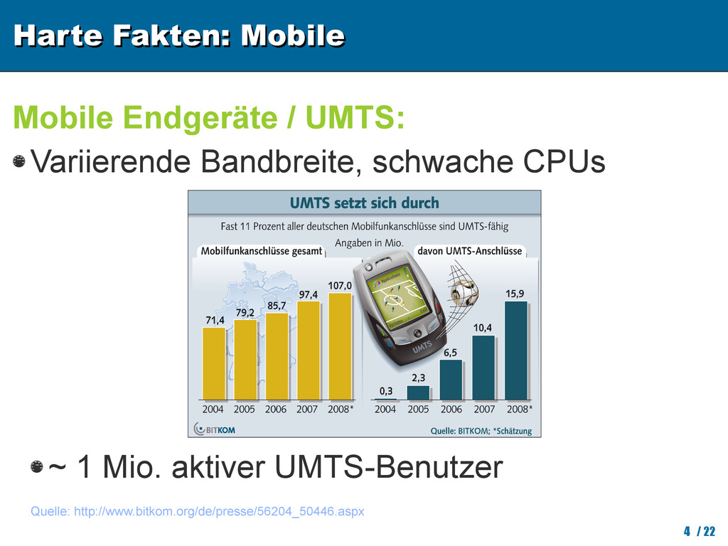 Harte Fakten: Mobile Harte Fakten: Mobile 4 / 2...