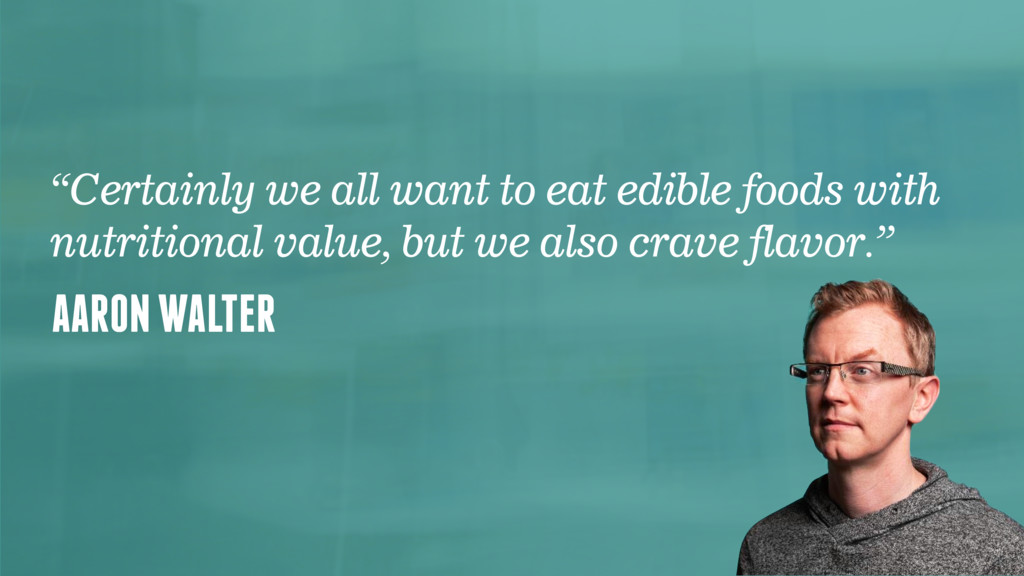 "@faz AARON WALTER ""Certainly we all want to eat..."