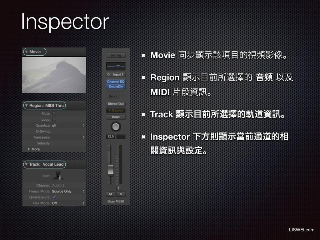 Inspector Movie ಉ㑊ᰖ߲ࣔ֘తࢹසӨ૾ɻ Region ᰖࣔલॴબᎩత Ի...
