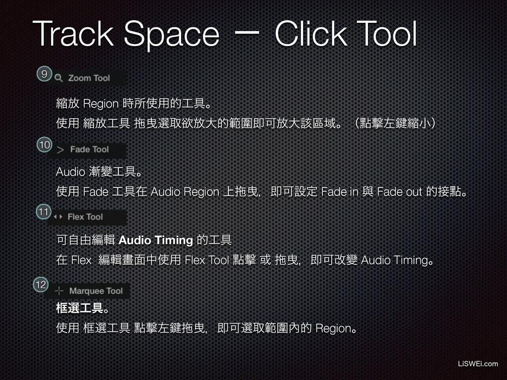 Track Space ʵ Click Tool -J48&JDPN ॖ์ Region ...