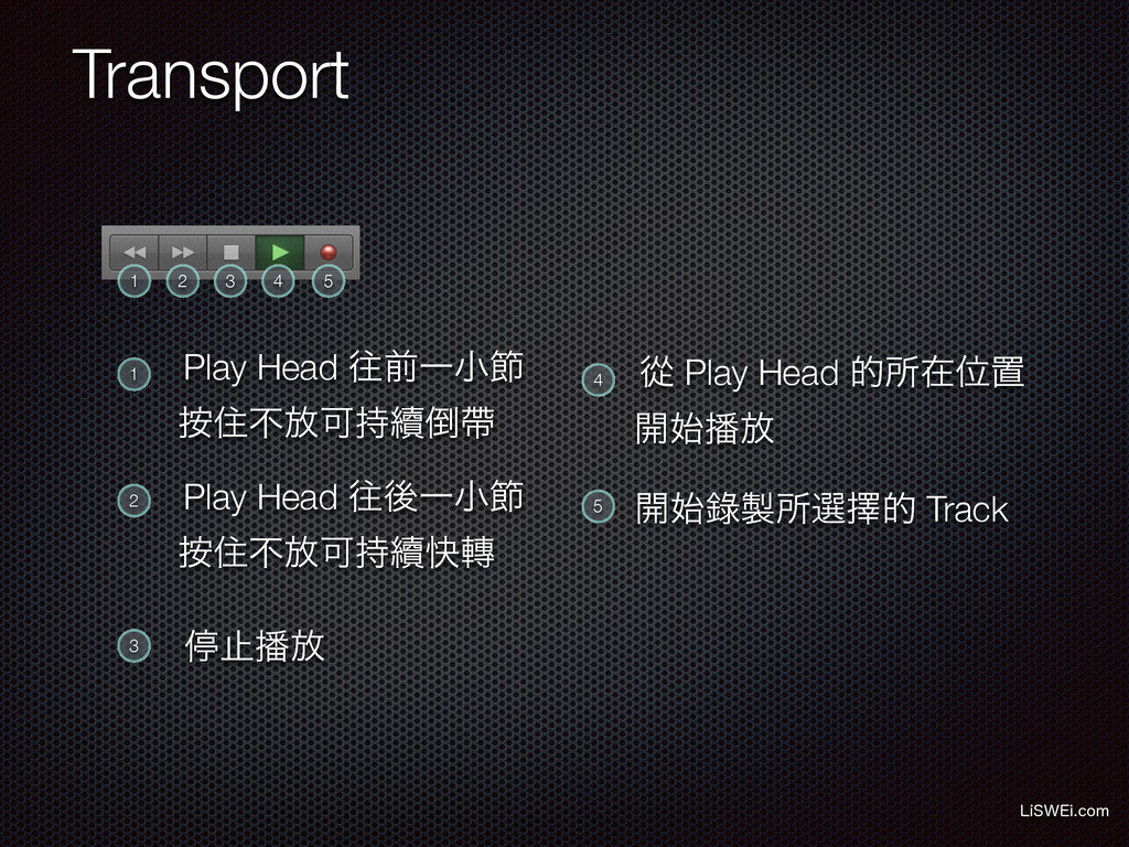 Transport -J48&JDPN 1 2 3 4 5 1 2 3 4 5 Play H...