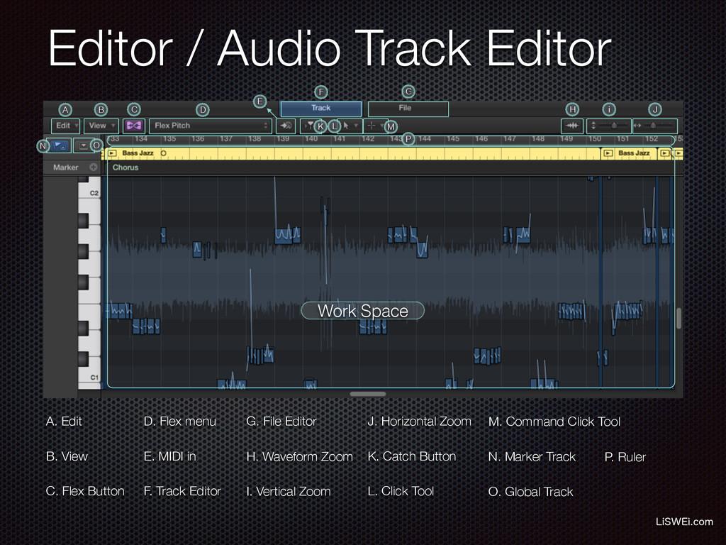 Editor / Audio Track Editor -J48&JDPN Work Spa...