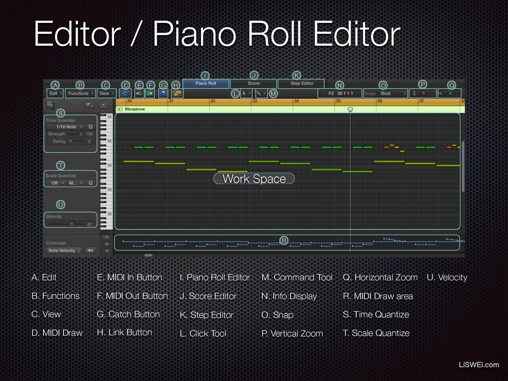 Editor / Piano Roll Editor -J48&JDPN A. Edit B...