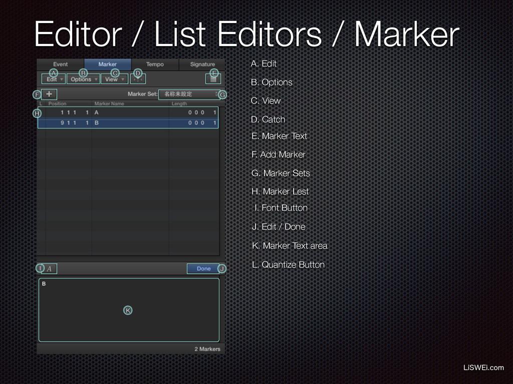 Editor / List Editors / Marker -J48&JDPN A. Ed...