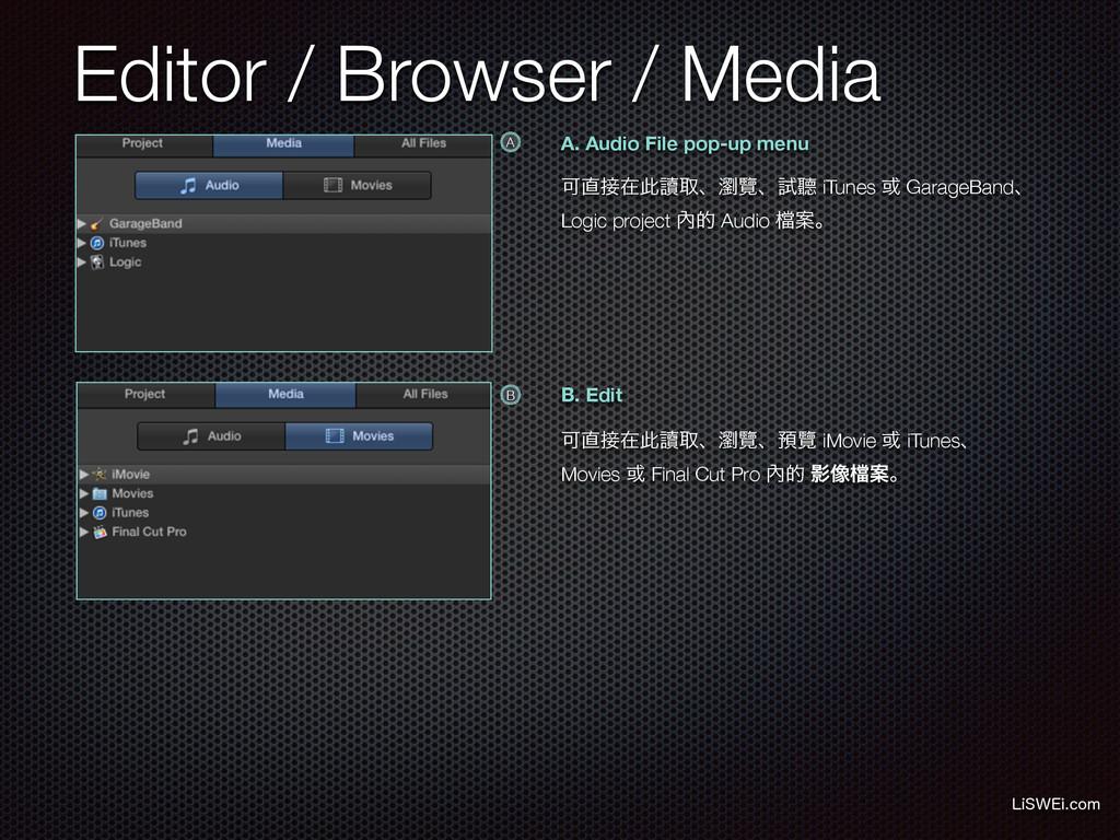 Editor / Browser / Media -J48&JDPN A. Audio Fi...