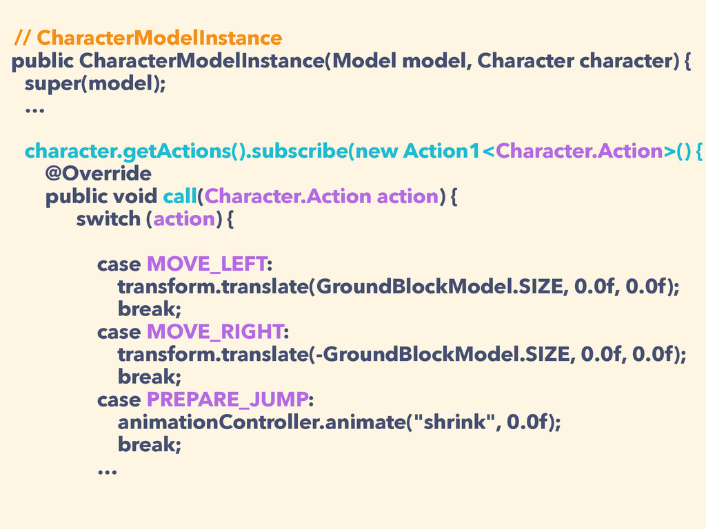 // CharacterModelInstance public CharacterModel...