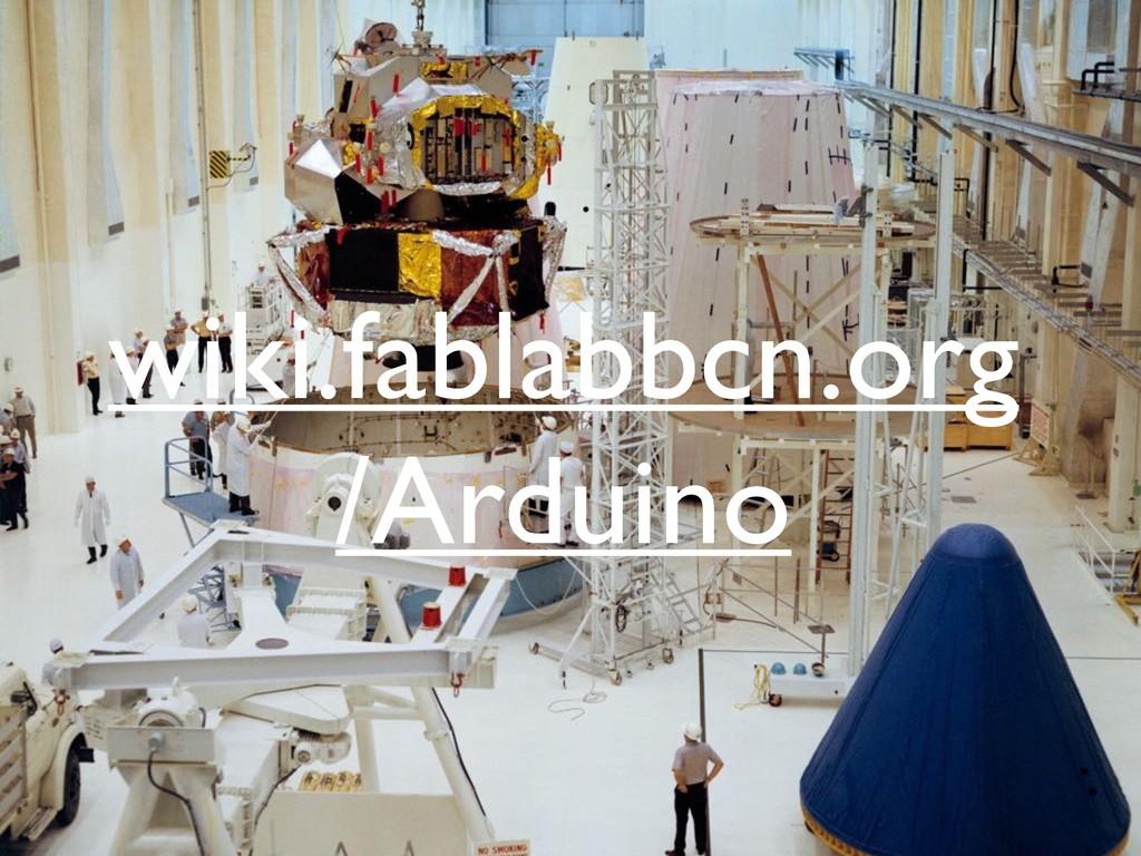 wiki.fablabbcn.org /Arduino