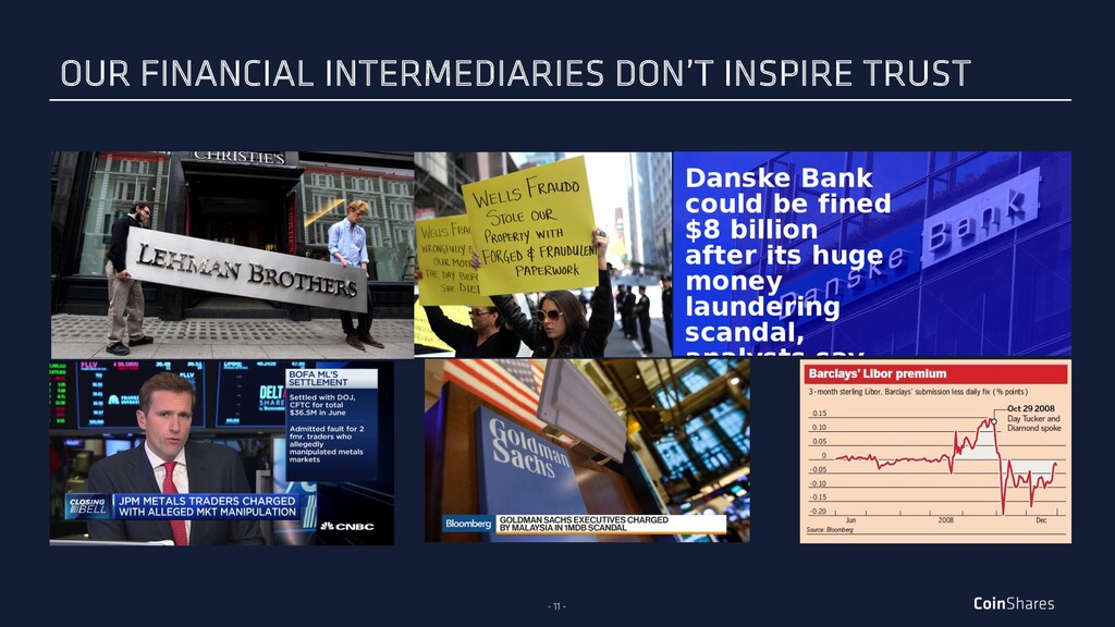 - 11 - OUR FINANCIAL INTERMEDIARIES DON'T INSPI...
