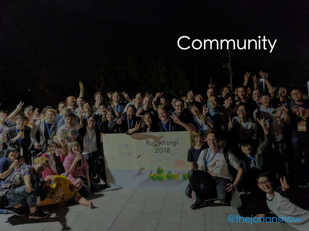 Community @thejonanshow