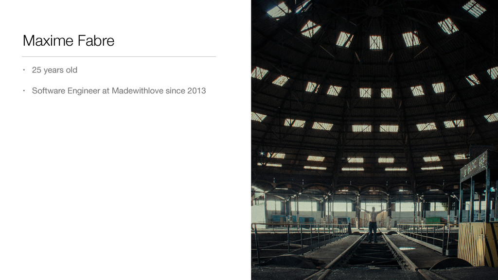 Maxime Fabre • 25 years old • Software Engineer...