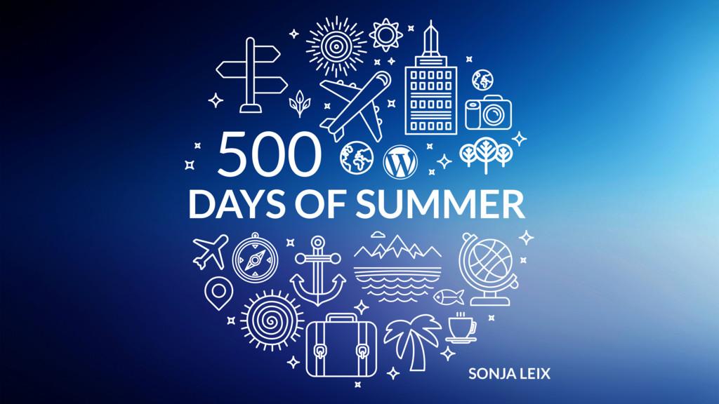 SONJA LEIX DAYS OF SUMMER 500