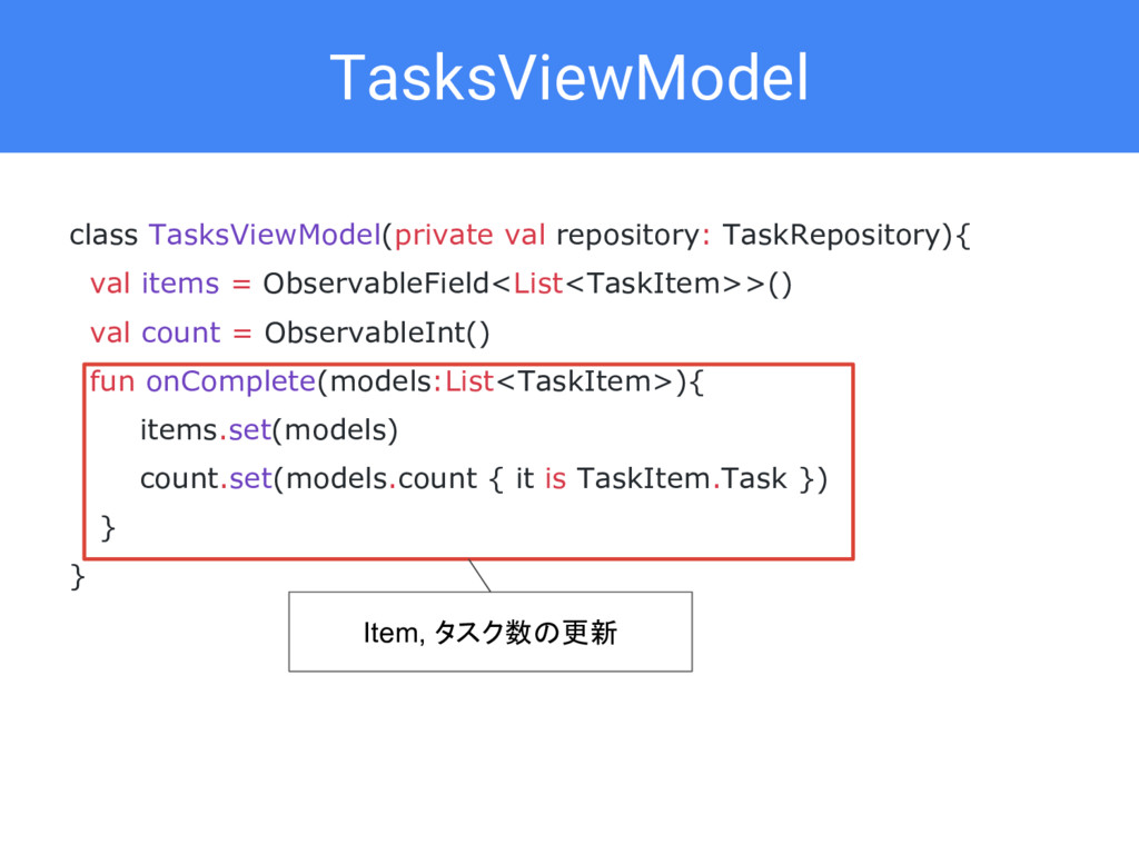 class TasksViewModel(private val repository: Ta...