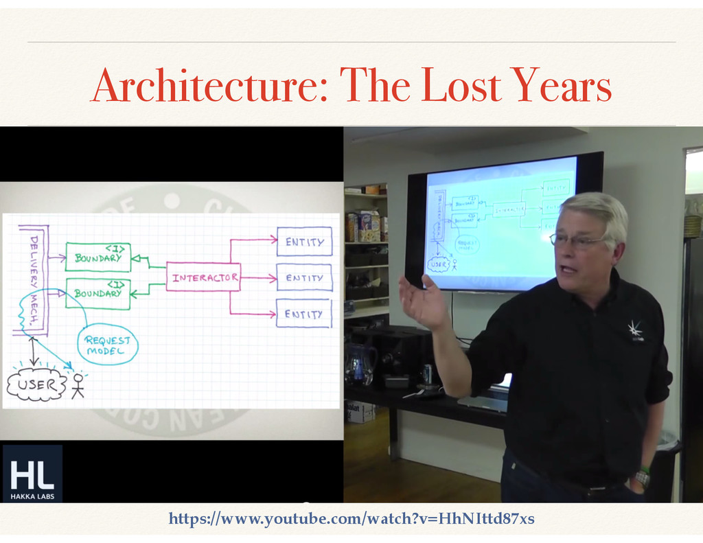 Architecture: The Lost Years https://www.youtub...