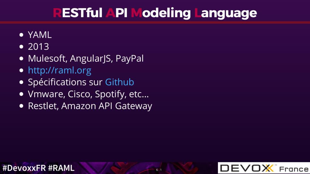 #DevoxxFR #RAML R RESTful ESTful A API PI M Mod...