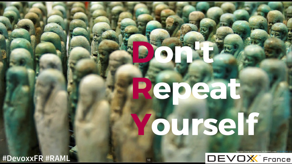 D Don't on't R Repeat epeat Y Yourself ourself ...