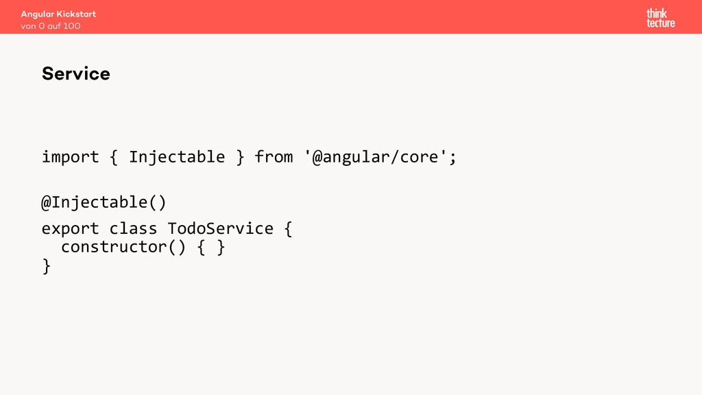 import { Injectable } from '@angular/core'; @In...