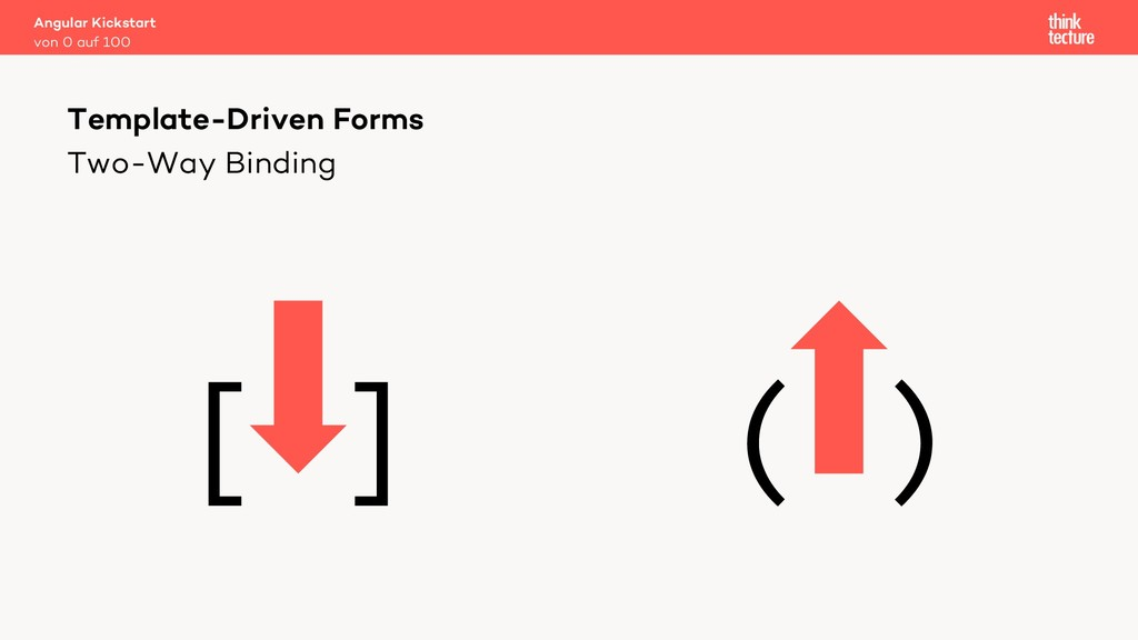 Two-Way Binding [ ] ( ) Template-Driven Forms v...