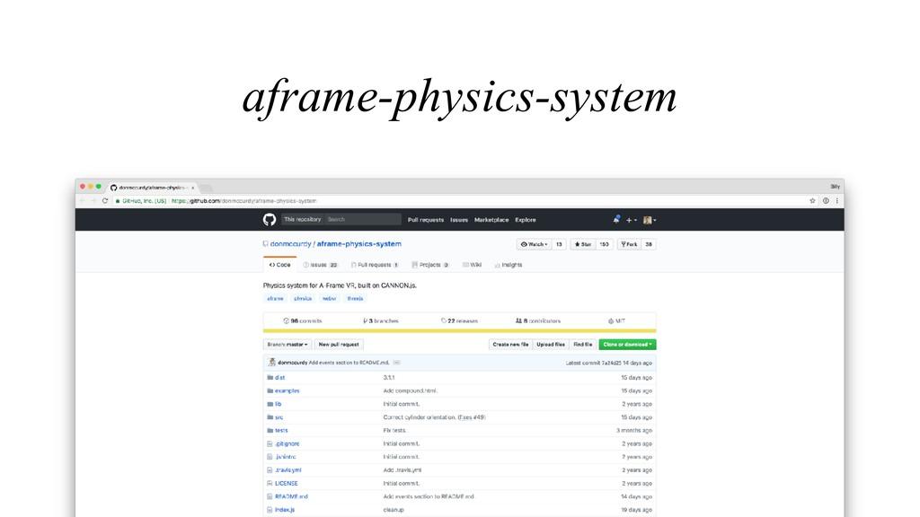 aframe-physics-system