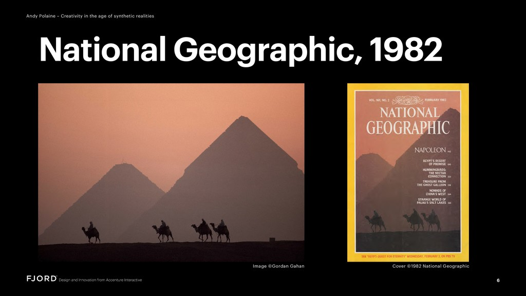 Cover ©1982 National Geographic 6 Andy Polaine ...