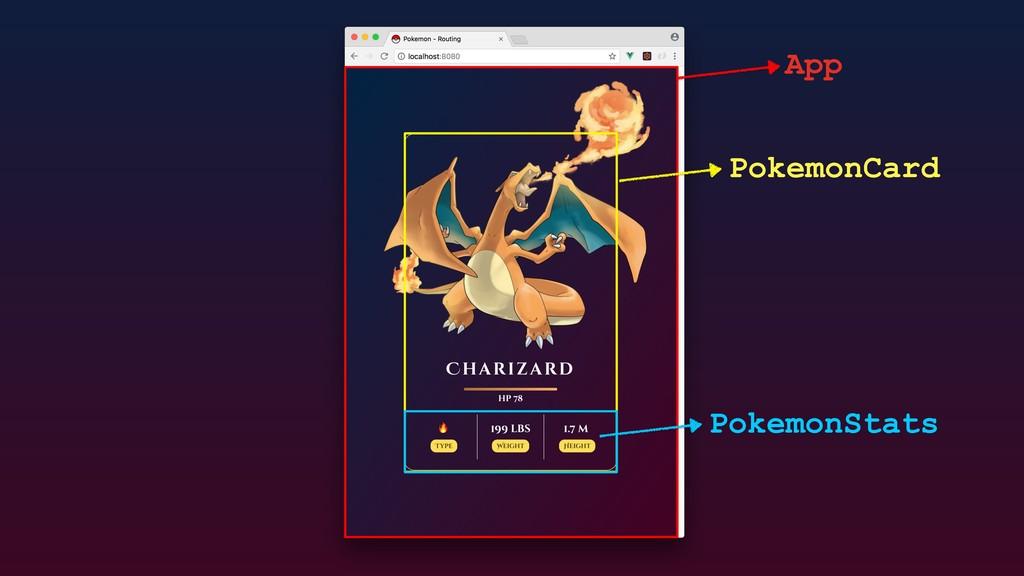 App PokemonCard PokemonStats