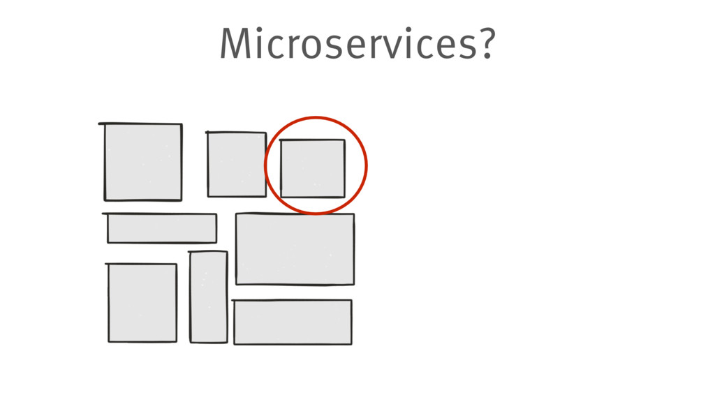 Microservices?