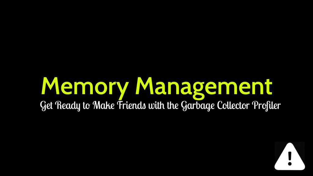 Memory Management Get Ready to Make Friends wit...