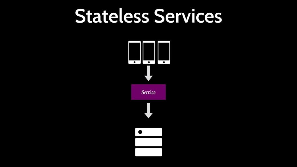 Stateless Services Service