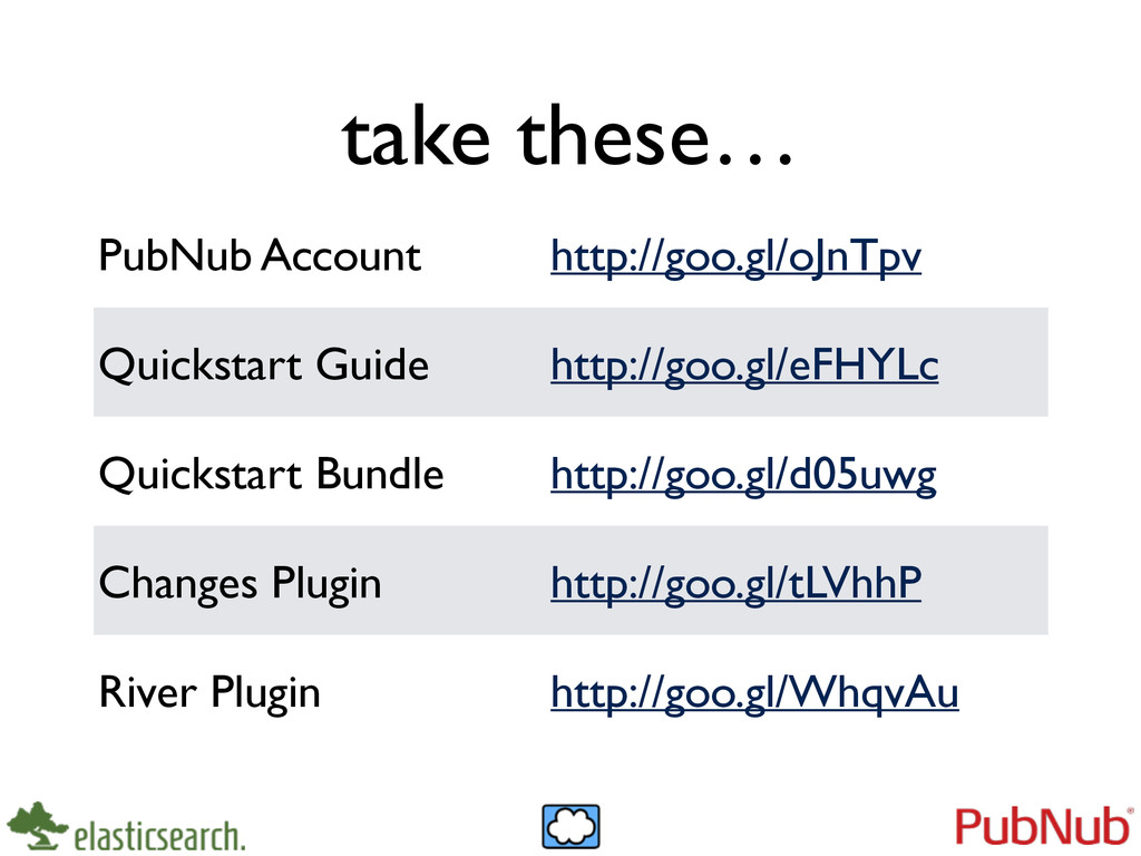 take these… PubNub Account http://goo.gl/oJnTpv...