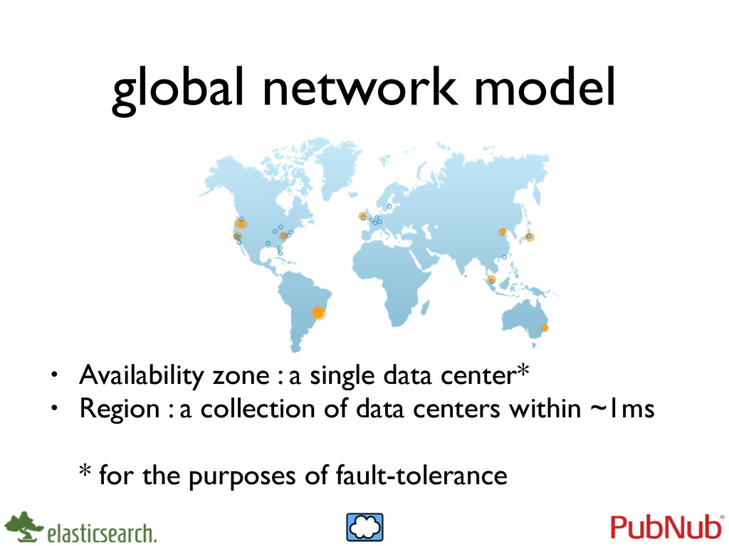 global network model • Availability zone : a si...