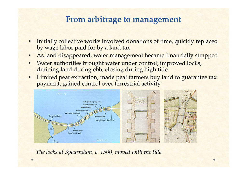 From arbitrage to management From arbitrage to ...