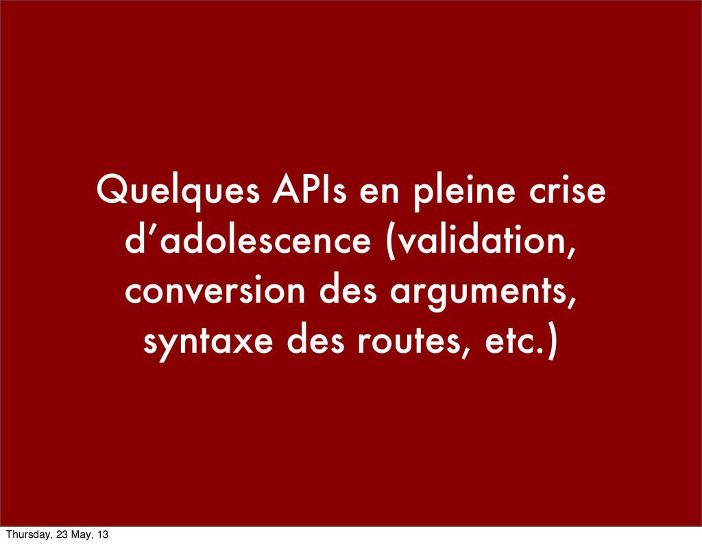 Quelques APIs en pleine crise d'adolescence (va...