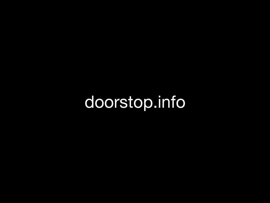 doorstop.info