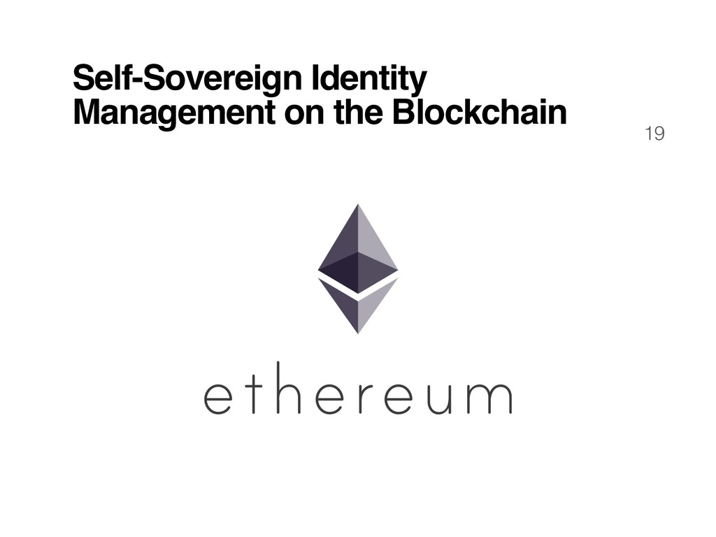 19 Self-Sovereign Identity Management on the Bl...