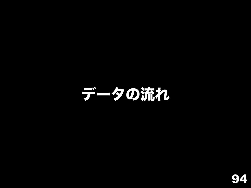 94 σʔλͷྲྀΕ