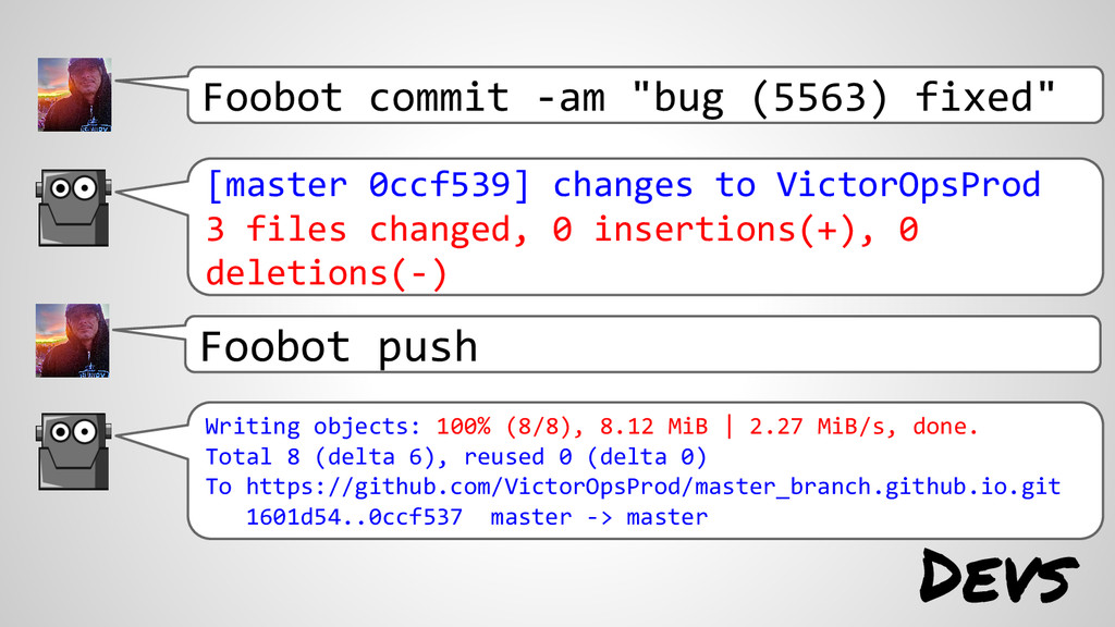 "Foobot commit -am ""bug (5563) fixed"" [master 0c..."