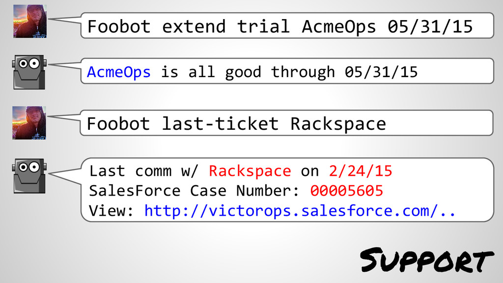 Support Foobot extend trial AcmeOps 05/31/15 Ac...