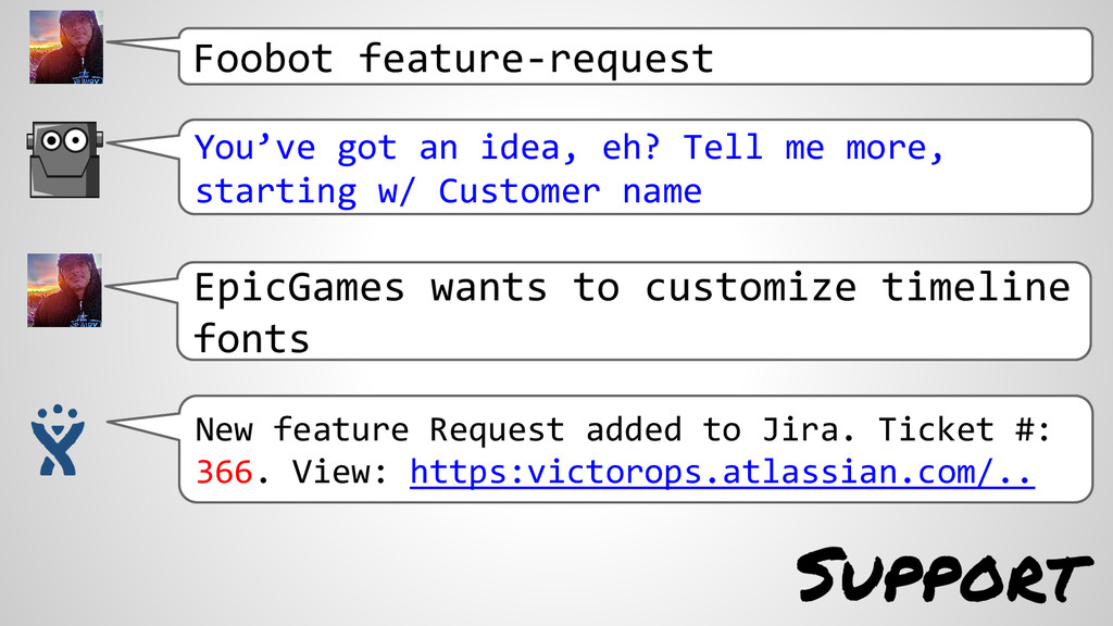 Support Foobot feature-request You've got an id...