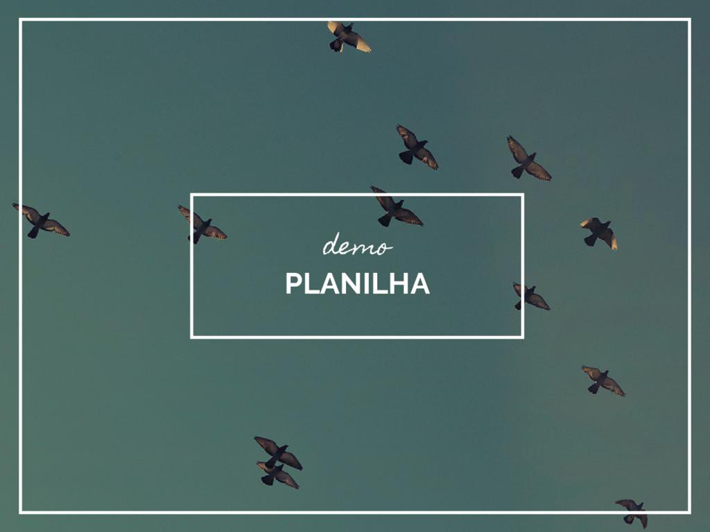 demo PLANILHA