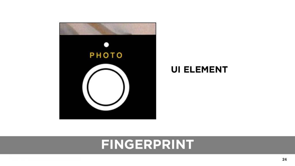 24 UI ELEMENT FINGERPRINT