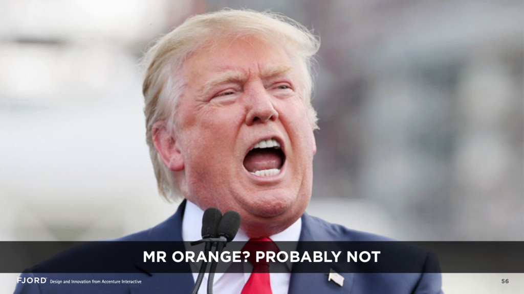 56 MR ORANGE? PROBABLY NOT