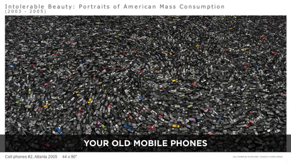 60 CELL PHONES #2, ATLANTA 2005 - SOURCE & © CH...