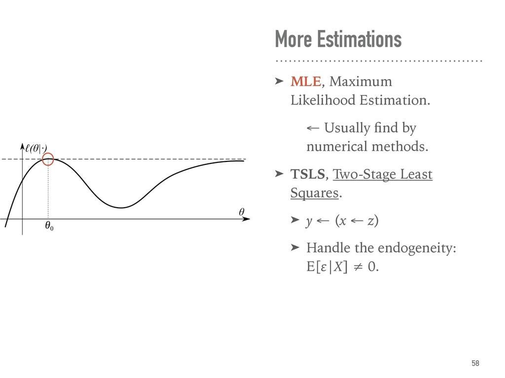 More Estimations ➤ MLE, Maximum Likelihood Esti...