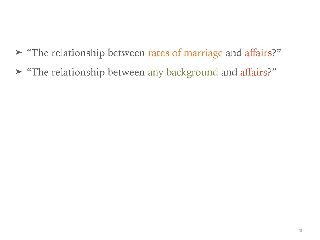 "➤ ""The relationship between rates of marriage a..."