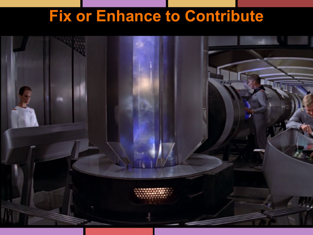 Fix or Enhance to Contribute