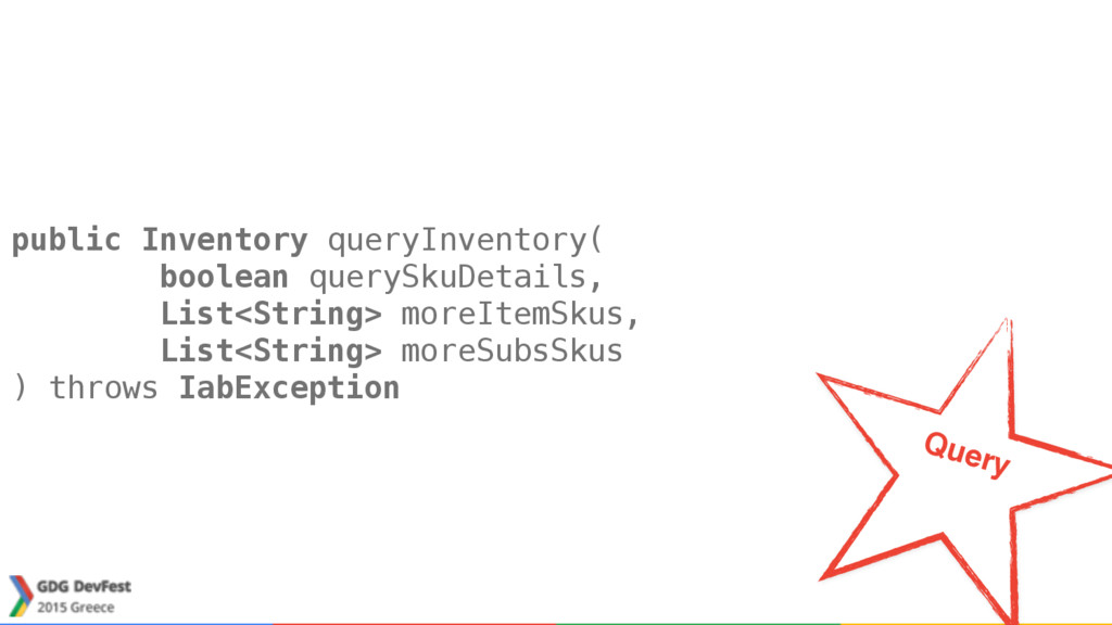 public Inventory queryInventory(