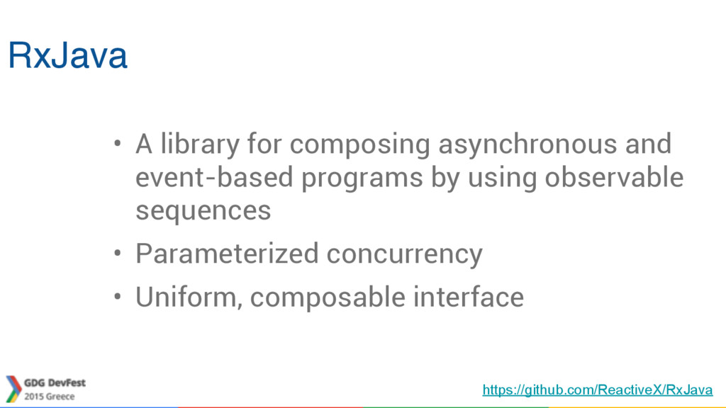 RxJava • A library for composing asynchronous a...