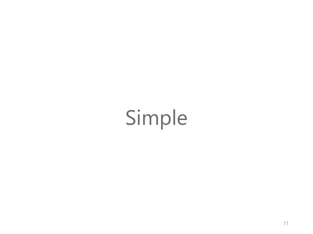 Simple 11