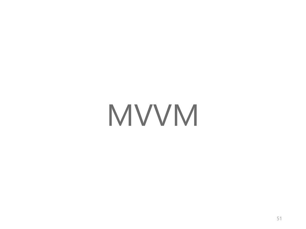 MVVM 51